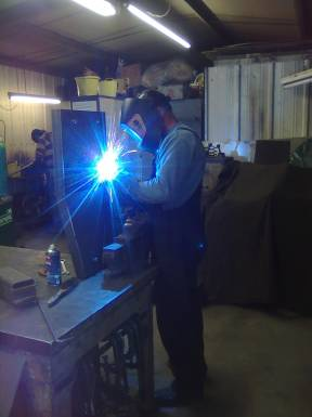 Anwick Forge at work